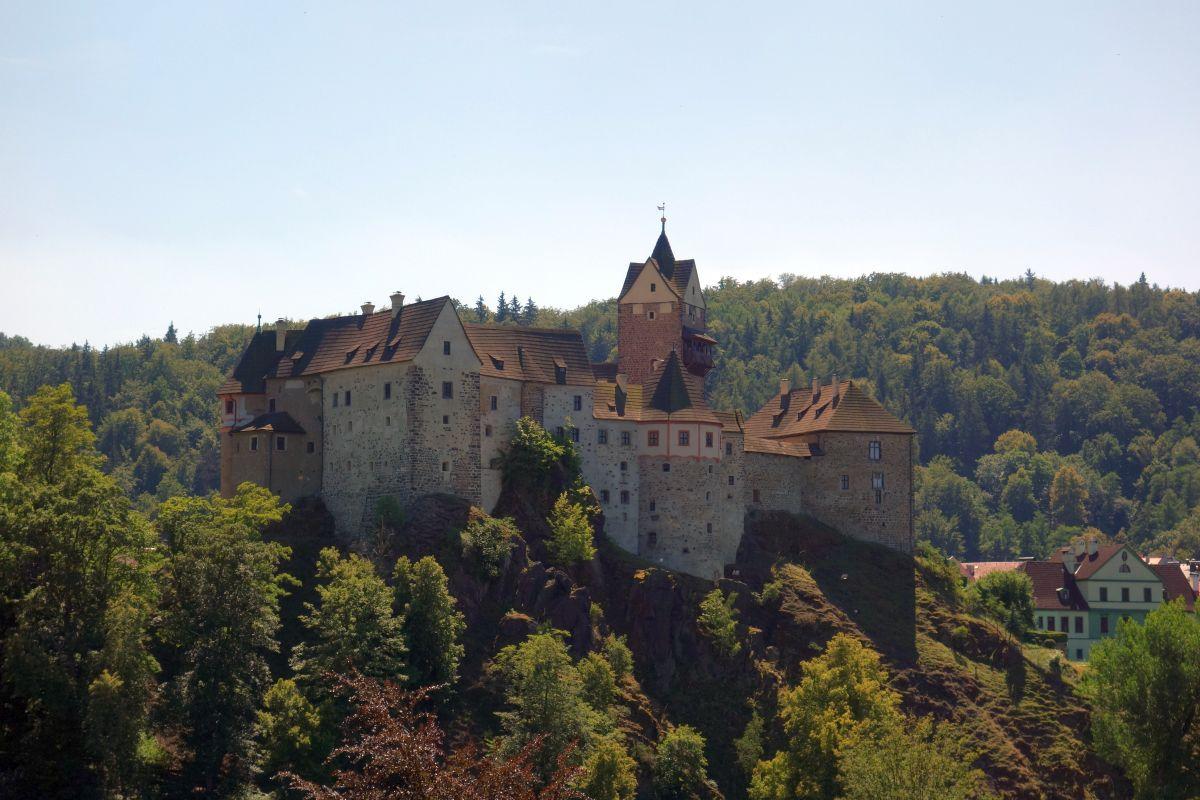 Elbogen: Burg Loket